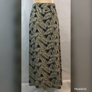 Old Navy Aloha Hawaiian Wrap Skirt Maxi Long M